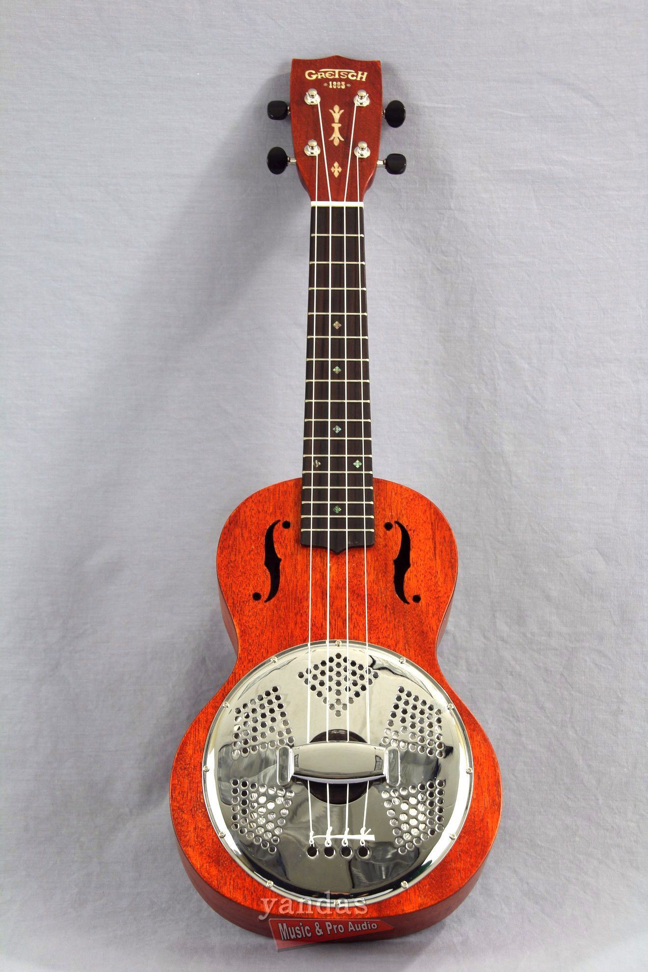 The Gretsch G9112 Resonator ukulele packs a powerful punch
