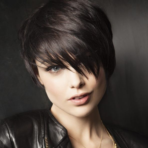 12 Fabulous Short Haircuts for Round Faces | Pinterest | Perfect ...