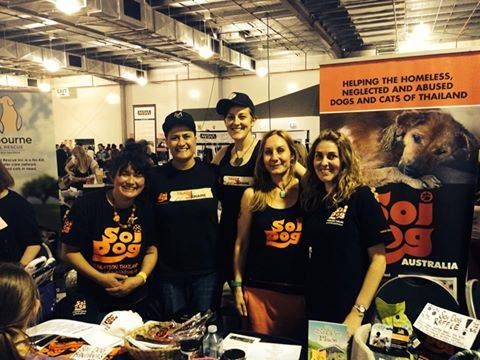 Many Thanks To Lee Haukedahl And Team For Representing Soi Dog