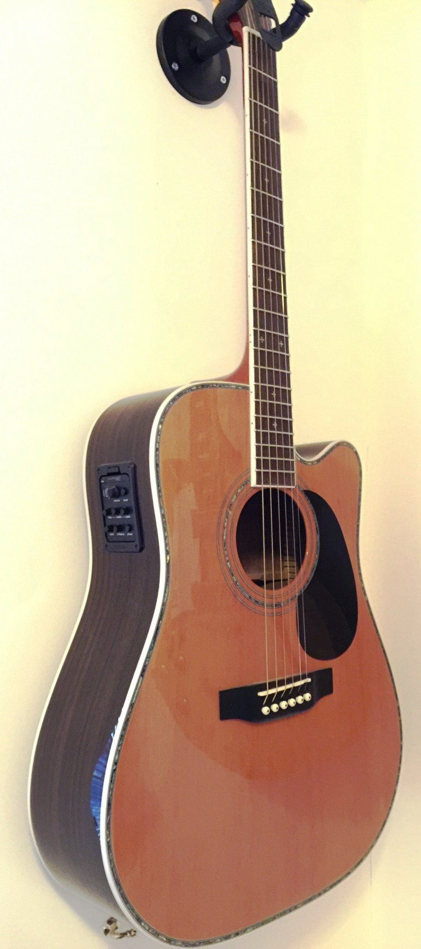 Zager Zad 80ce N Electro Acoustic Acoustic Acoustic Instrument Guitar