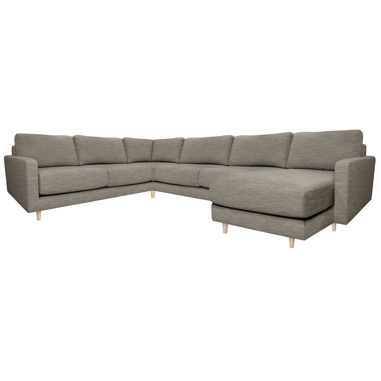 Mapperly 2 Piece Chaise Corner Unit Right Hand Facing 298 Cm X 152 Cm X 97 Cm With 3 X Fibre Back Cushions 3 X Fo Chaise Corner Corner Sofa Units Corner Sofa