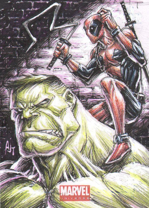 #Deadpool #Fan #Art. (wrong blade?) by:AnthonyTAN7775. (THE * 5 * STÅR * ÅWARD * OF: * AW YEAH, IT'S MAJOR ÅWESOMENESS!!!™)[THANK U 4 PINNING!!!<·><]<©>ÅÅÅ+(OB4E)