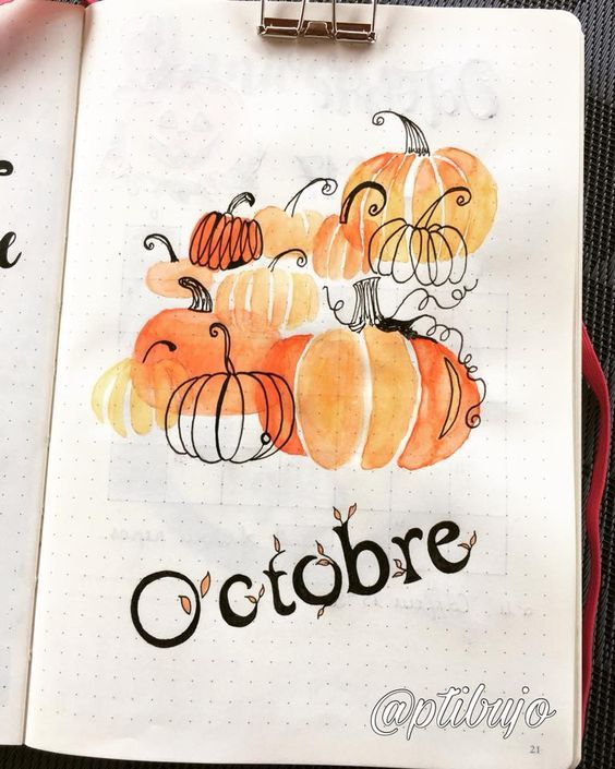 15 Cozy Bullet Journal Layouts Perfect For Fall - Nikola Kosterman #fallbeauty