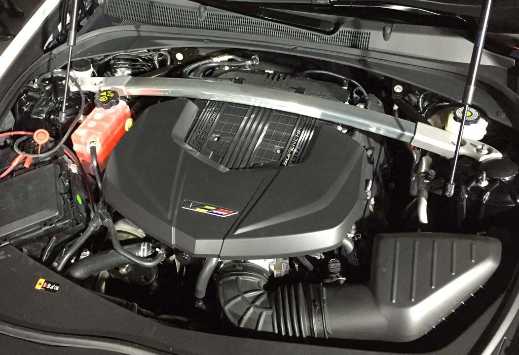 2016 Cadillac CTS-V Engine | All Things Automotive | Pinterest ...
