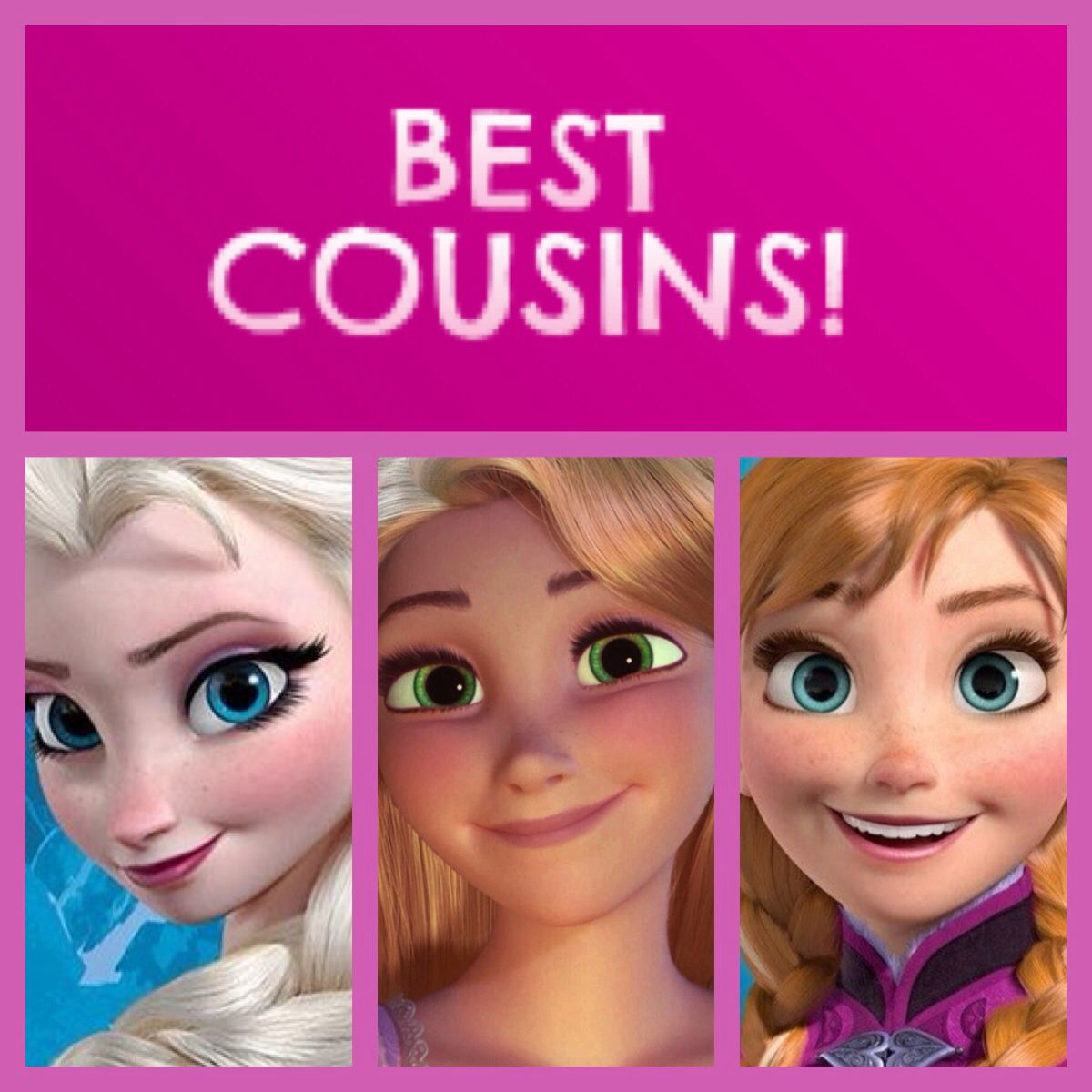 tangled frozen crossover best cousins queen elsa