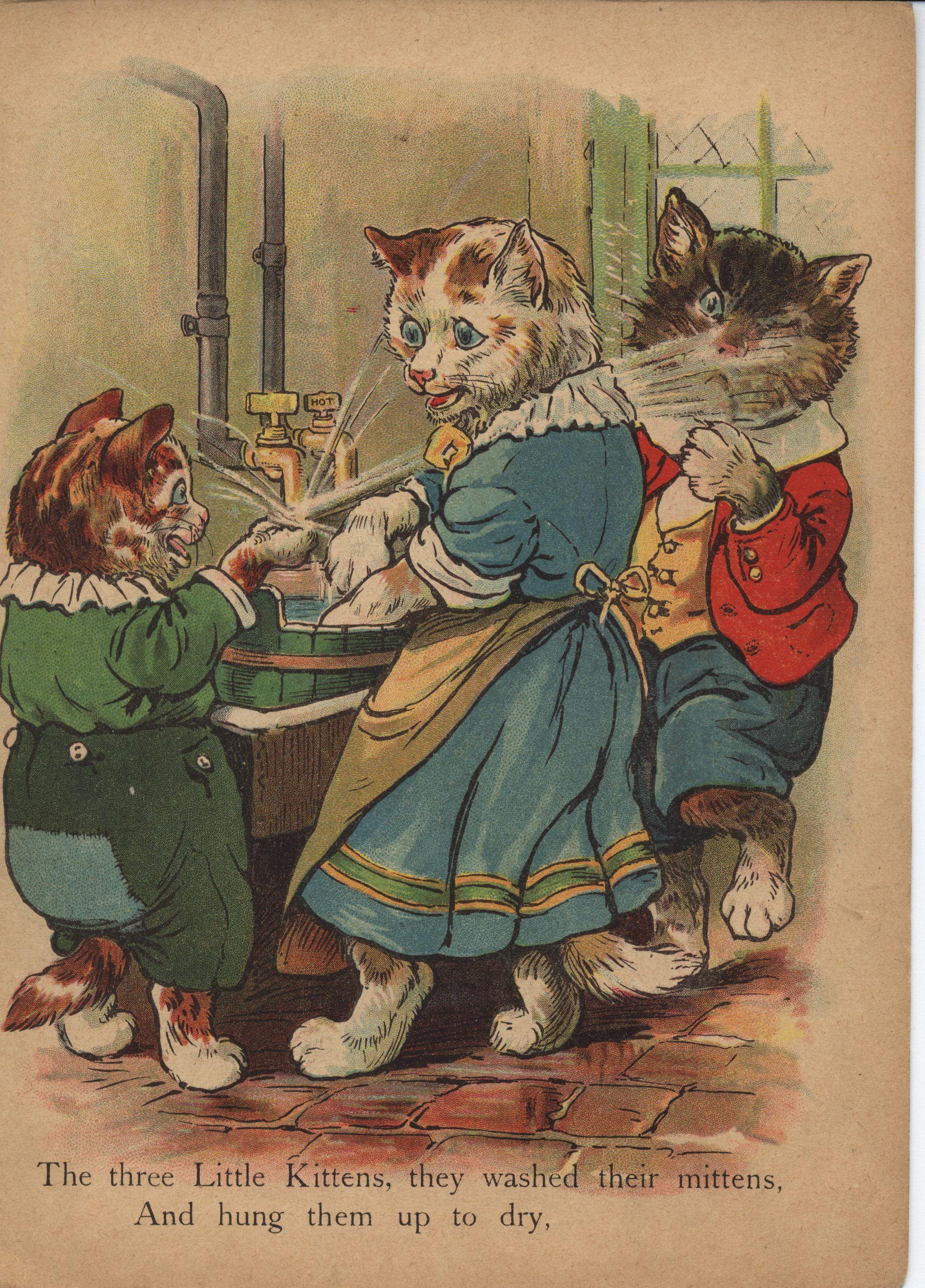 The Three Little Kittens Raphael Tuck Amp Sons Ltd