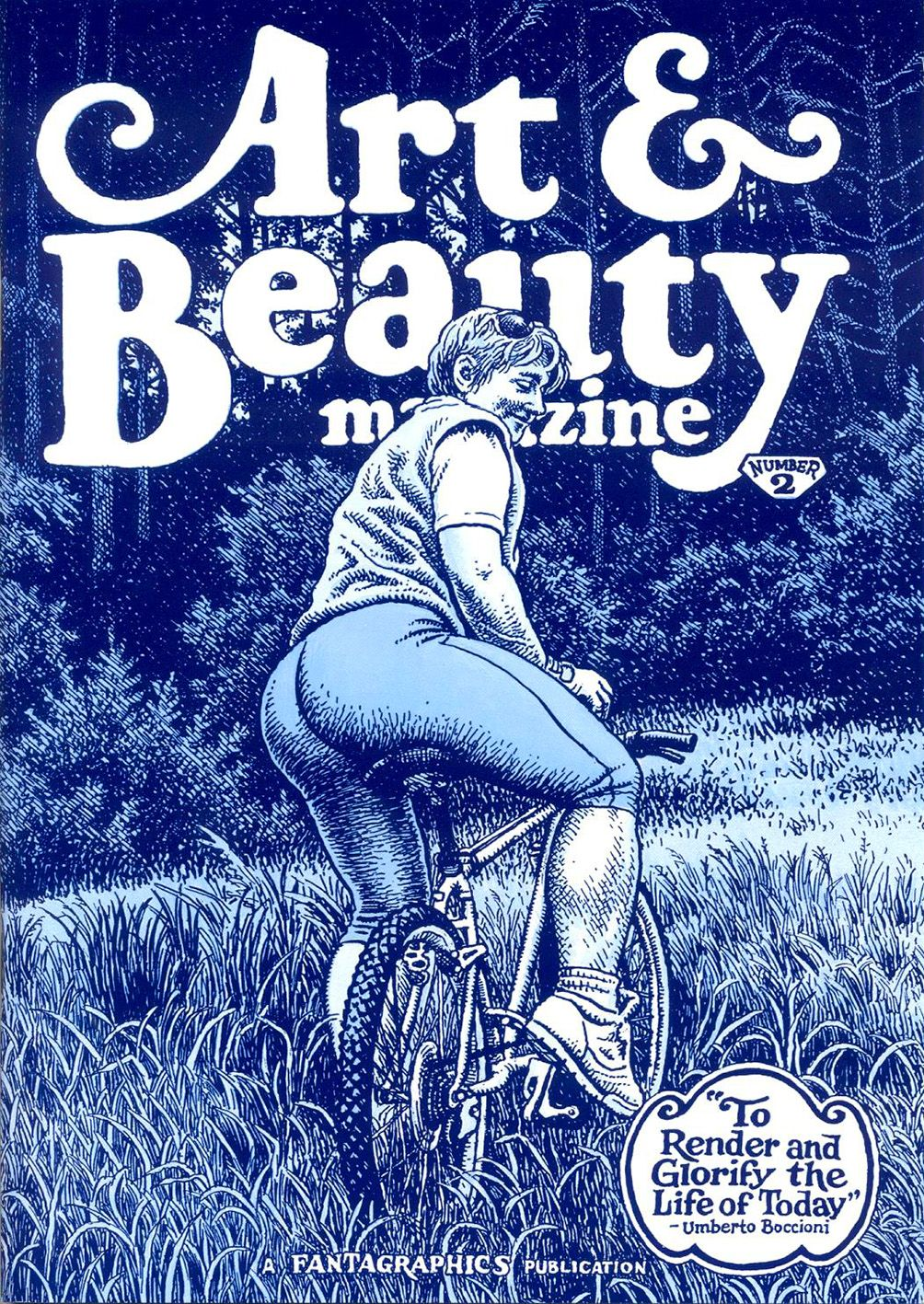 Art & Beauty Magazine #2 by Robert Crumb (underground comics)