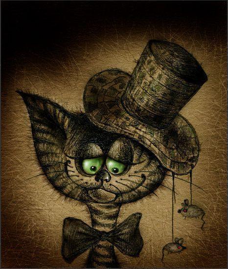 Alexandra Astashonok Cat Art Crazy Cats Illustration