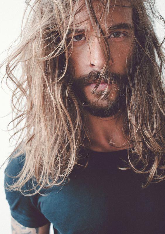 Longhair Beard Hippy Hair And Beard Styles Long Hair Styles Men Long Hair Beard