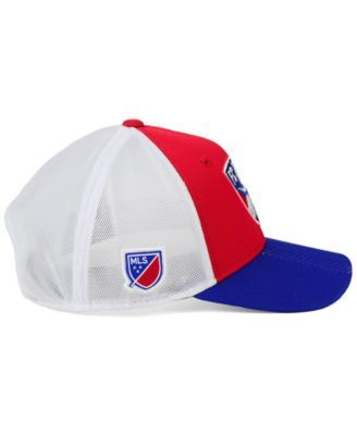 newest collection afd71 47cc3 adidas Fc Dallas Authentic Mesh Adjustable Cap - Blue Red White Adjustable
