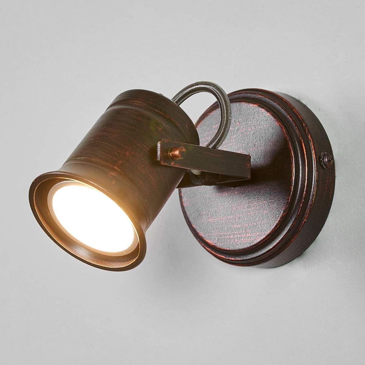 Braun Goldener Spot Cansu Gu10 Led Led Led Spots Und Led Wandlampen