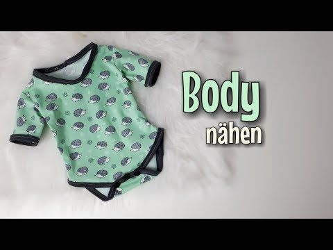 Body - Nähanleitung OHNE Schnittmuster - Für Anfänger - Nähtinchen ...