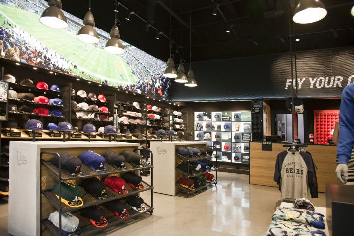 New Era Store by Checkland Kindleysides