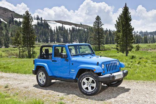 Jeep Wrangler Wins 2012 Alg Residual Value Award 2012 Jeep