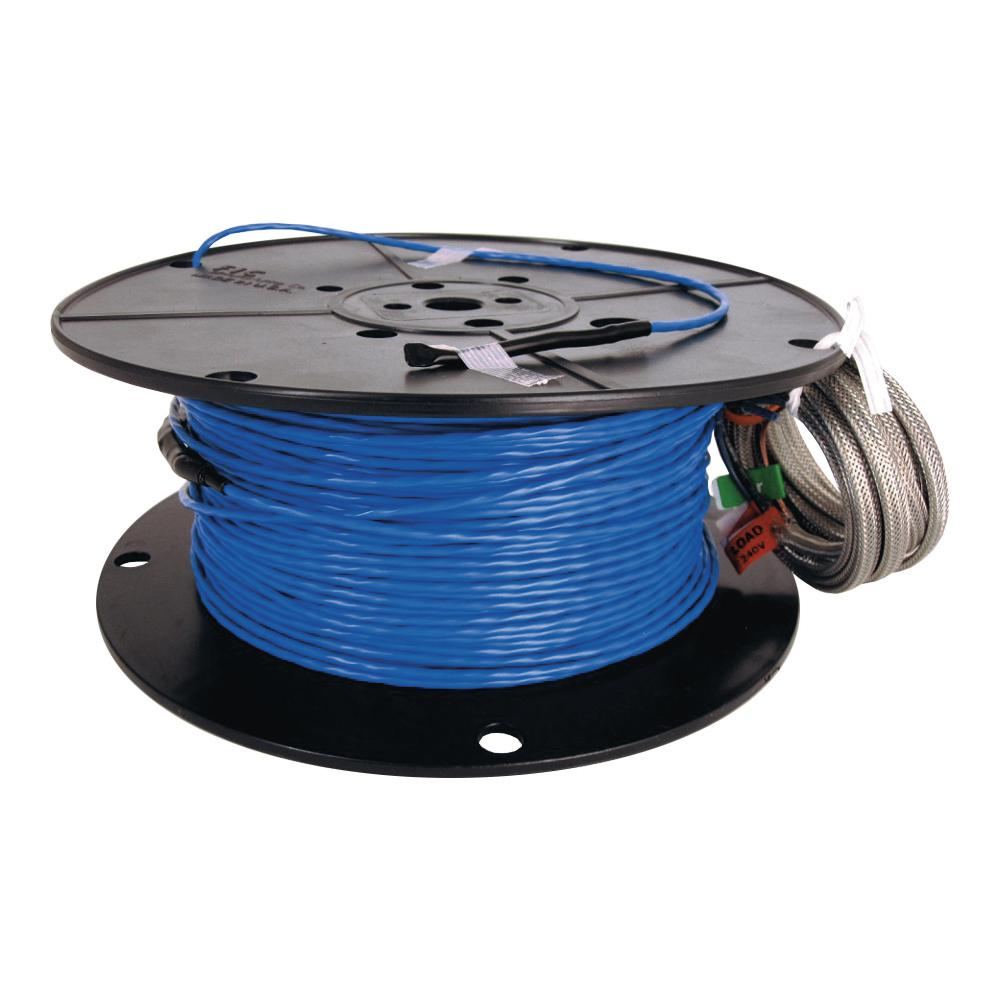Suntouch Floor Warming Warnwire 100 Sq Ft 240 Volt Radiant Heating Wire 240100wb Rst Radiant Heat Radiant Floor Floor Heating Thermostat