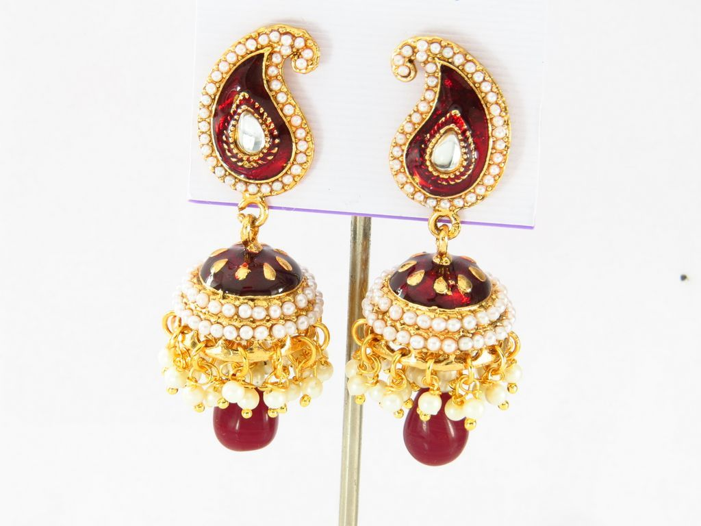 Traders And Manufacturers In Jhumka Earrings Wholesale Supplies Buy  Wholesale Imitation Jewellery, Indian Jewelry