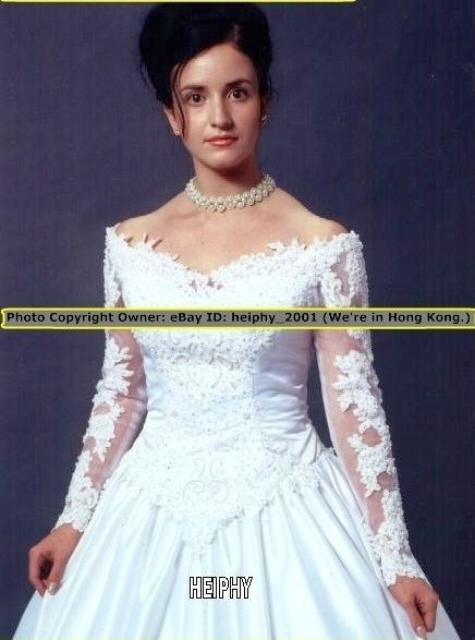 4dc26a4a192 ~~STOCK Nwt RQ Sexy  OffSh Lace Beaded Wedding Gown Dress Plus Size 30  28