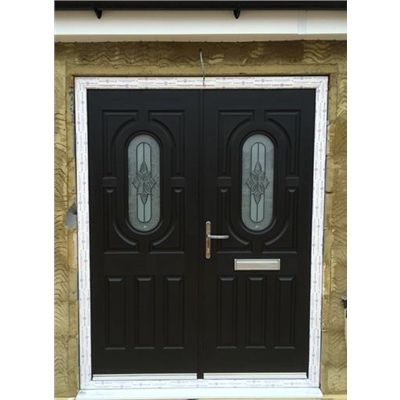 Arcacia French Rockdoor in Onyx Black with Cosmopolitan. French DoorsPatios  sc 1 st  Pinterest & Arcacia French Rockdoor in Onyx Black with Cosmopolitan ... pezcame.com
