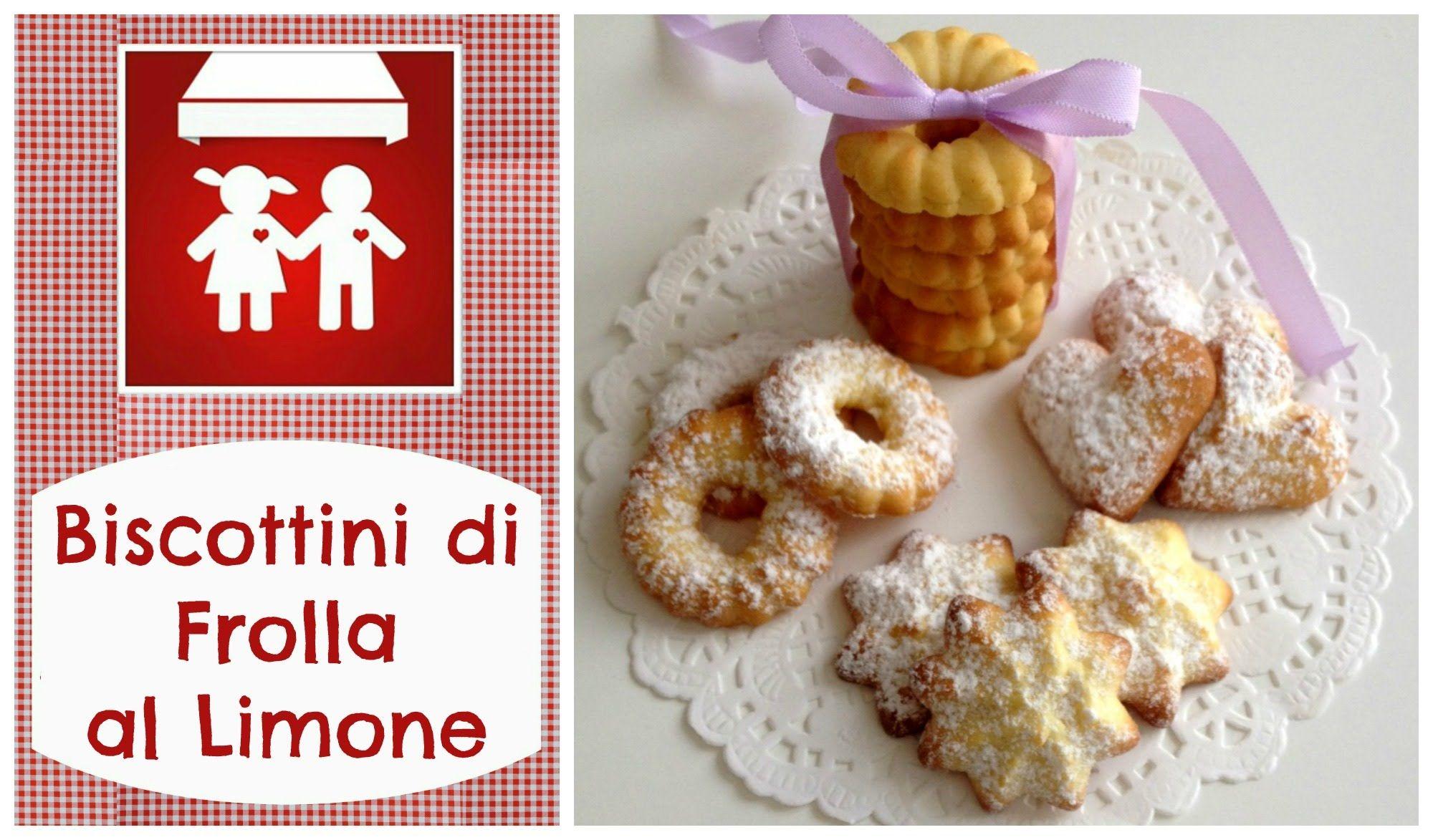 Biscottini di Frolla al Limone di Luca Montersino e GIVEAWAY(Dolci) 2C+K