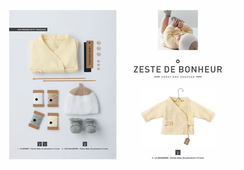 Mini-catalogue layette n°579 - Layette - Phildar