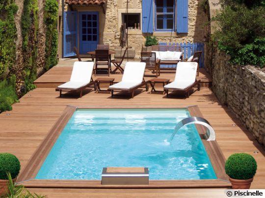 Casa com piscina pequena pesquisa google piscinas for Ideas piscinas jardin