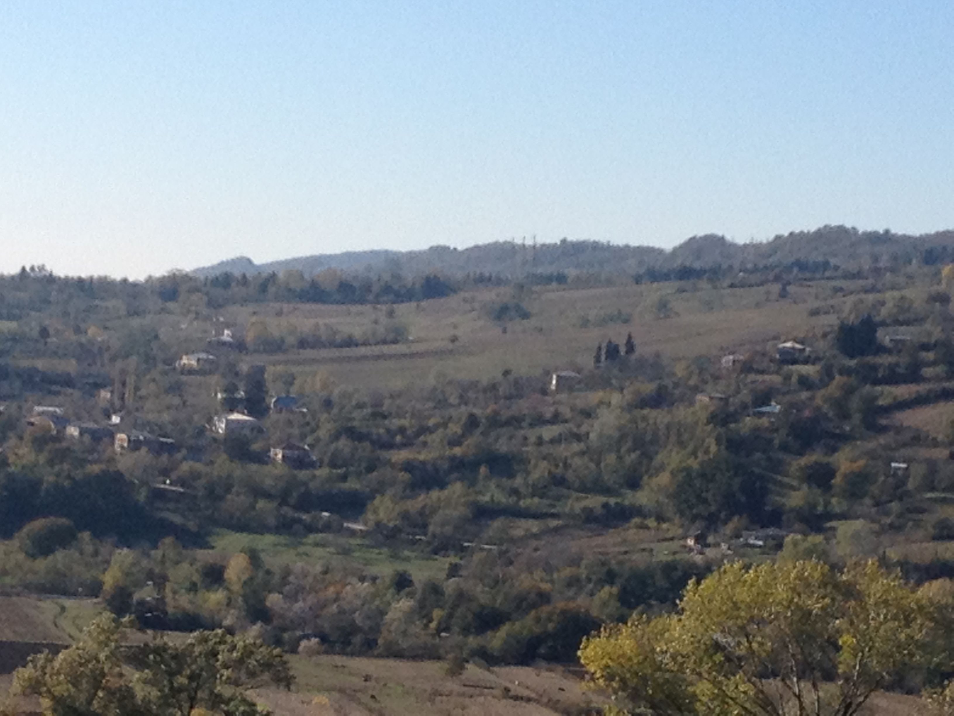 view from Dzevri, Republic of Georgia