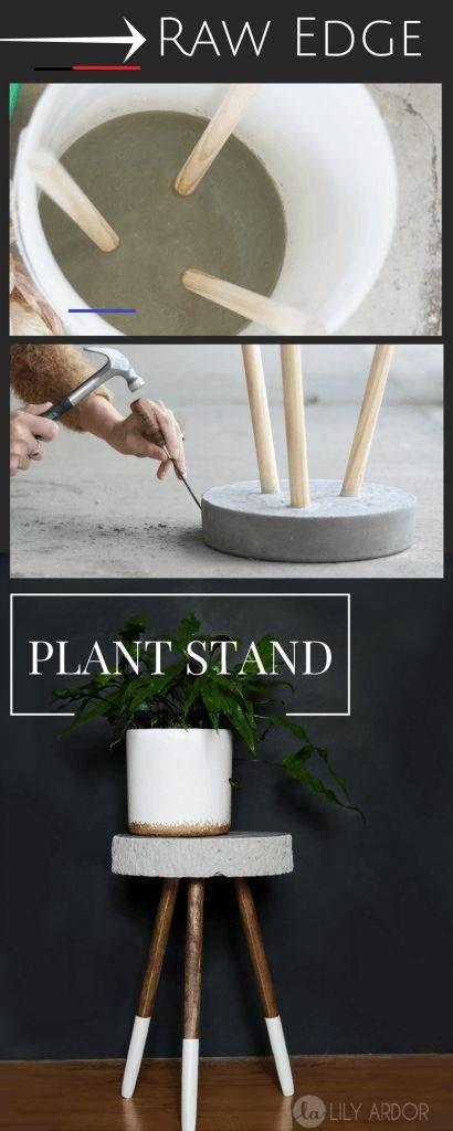 Über 24 DIY-Pflanzenstände Ideen die Ihr Zuhause mit viel Grün füllen   #homedecor<br>