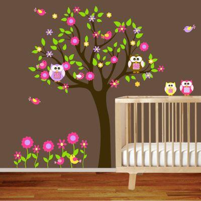 Fantasy deco vinilos decorativos cuarto del bebe baby for Vinilos cuartos bebe