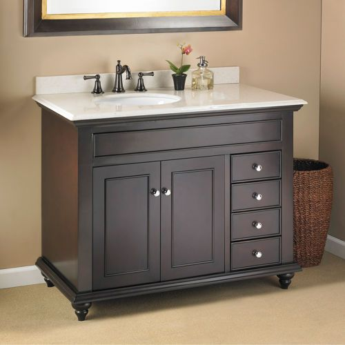 Contemporary Art Sites Mayfield ud Single Sink Vanity by Mission Hills