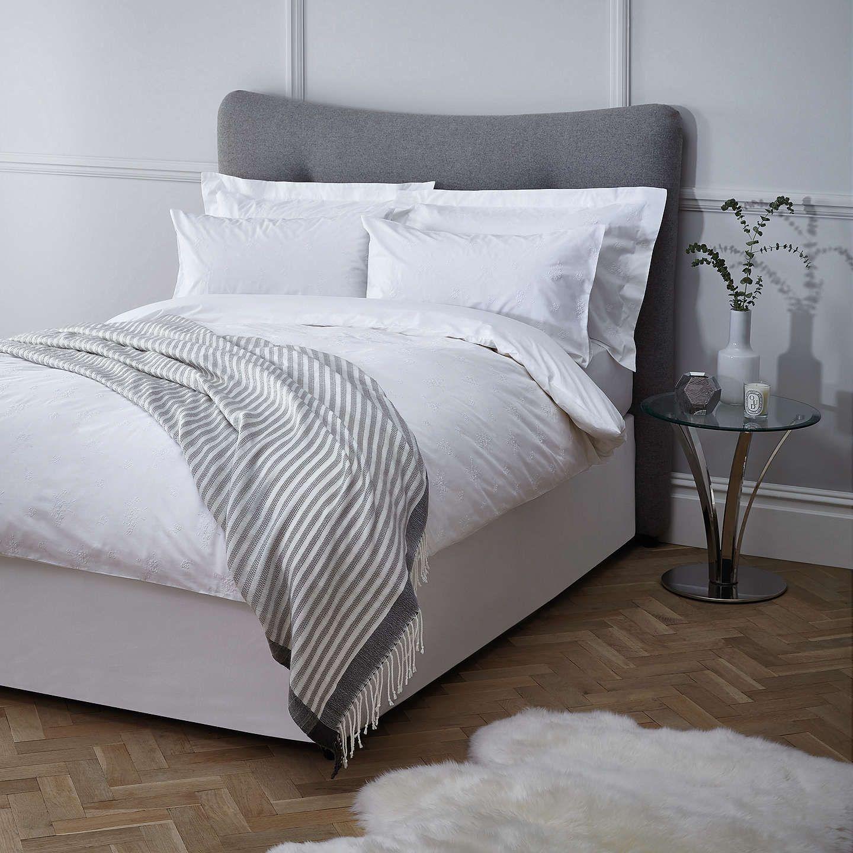 BuyJohn Lewis Lillian Floral Cotton Standard Pillowcase