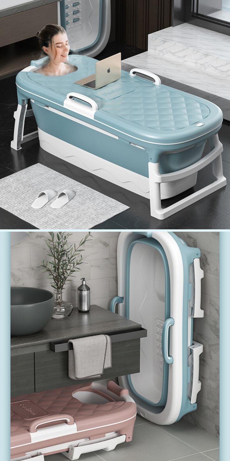 Photo of Large Portable Folding Bathtub