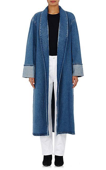 Balenciaga Denim Robe Coats Faves Coat 504860364Fashion lFJK1Tc