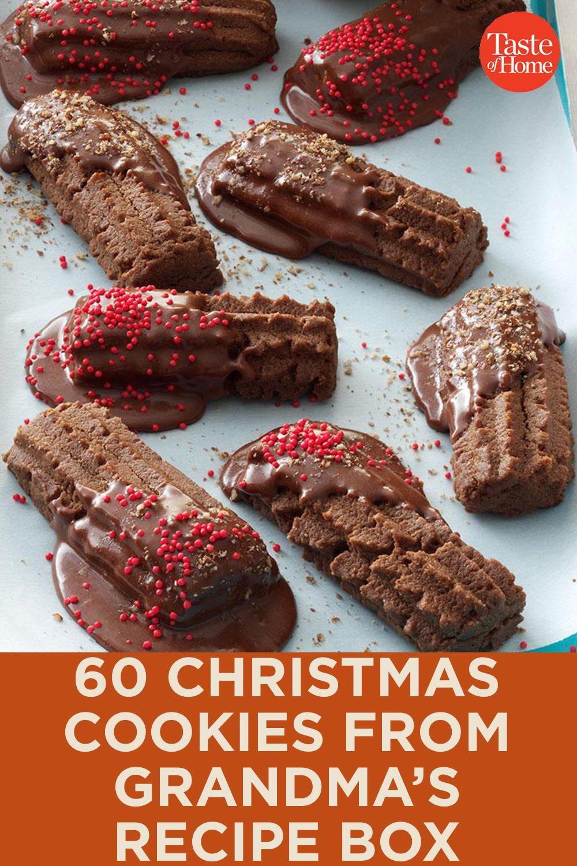 60 Christmas Cookies from Grandma's Recipe Box