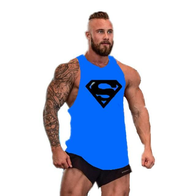 17734b36375ec Muscle Guys New Brand clothing Bodybuilding Fitness Men Tank Top Golds  Gorilla gasp Wear Vest Stringer Undershirt