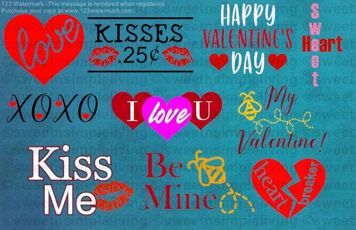 Download Valentines SVG Bundle   Valentines, Great thank you ...