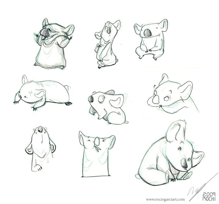 Character Design Animation Tutorial : Koalass g pixels animation characters