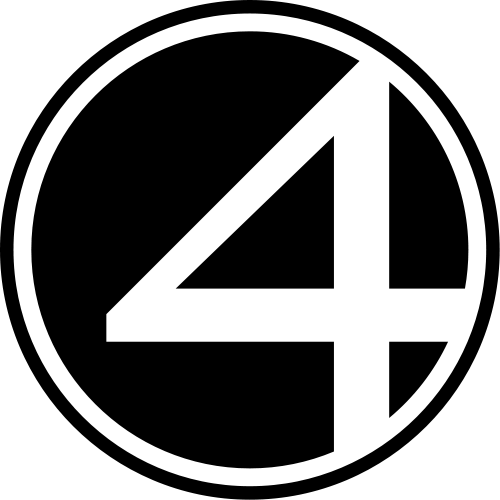 Gallery For Fantastic 4 Logo Png Fantastic Four Logo Fantastic Four Art Logo