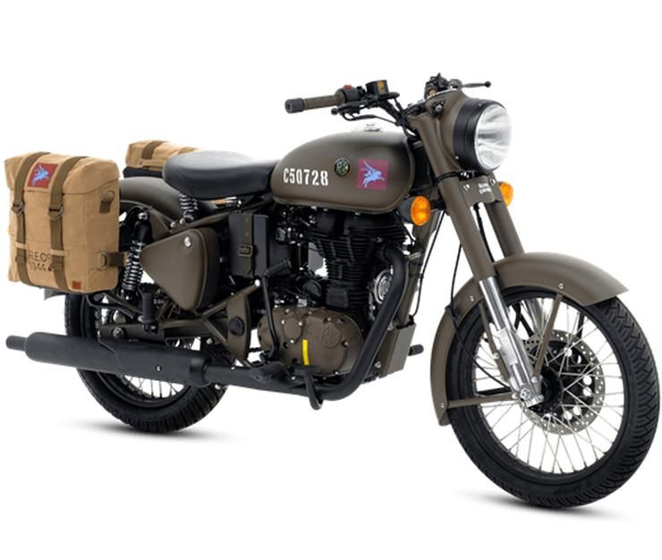 Official Photo Gallery Of Royal Enfield Classic 500 Stealth Black