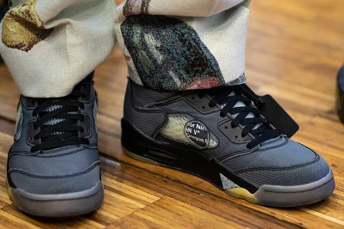 Foot Locker Slammed Over Off White X Nike Air Jordan 5 Drop In