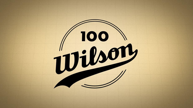 Wilson 100 Year Anniversary on Behance