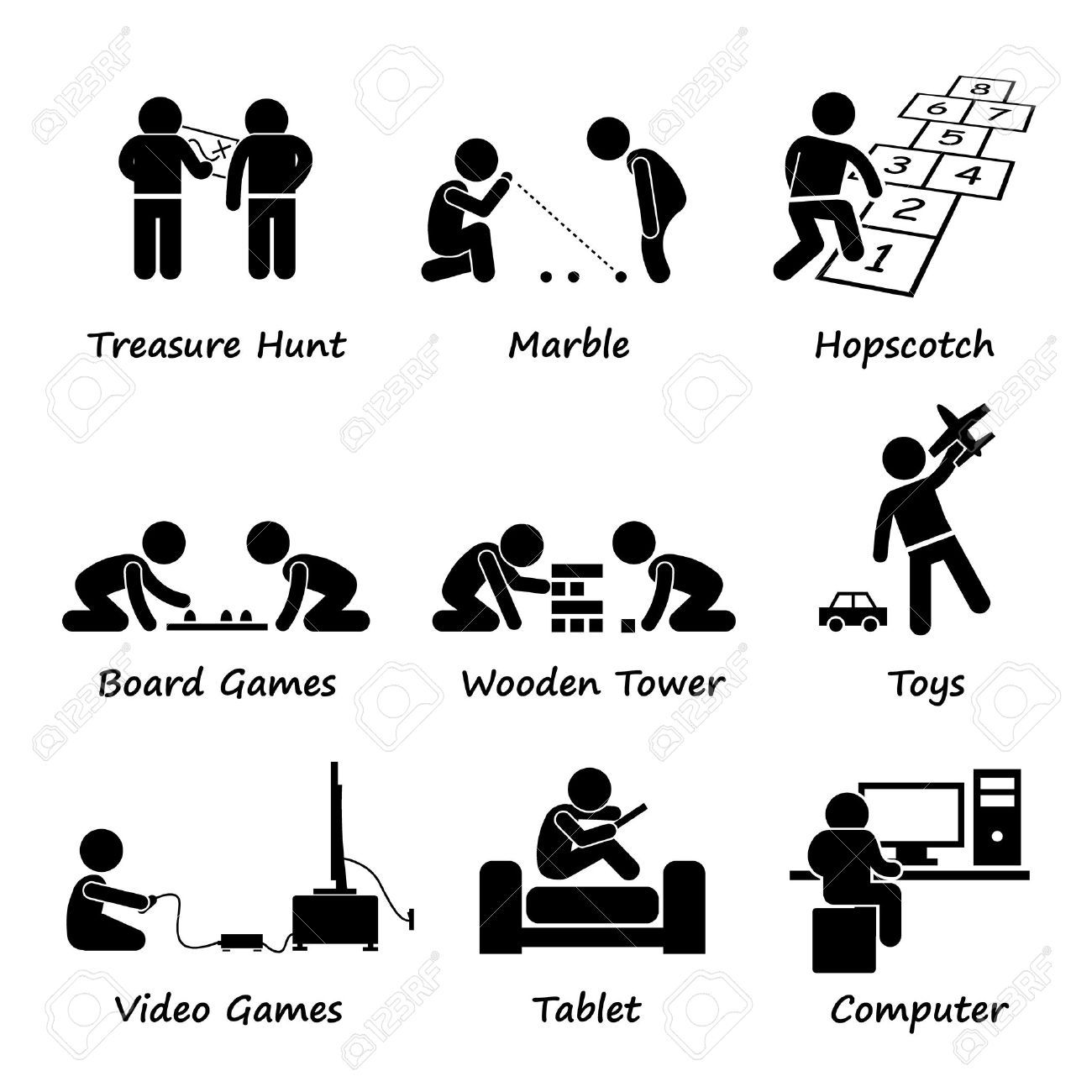 playing game vector image Google Search (With images