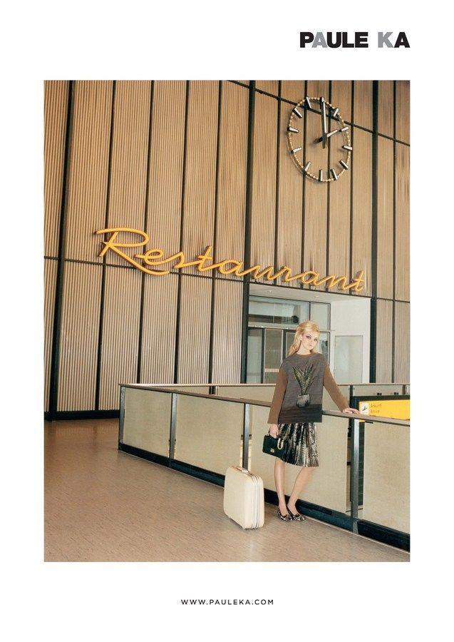 Beauty Drama At the Airport - Vicki Archer | Paule ka