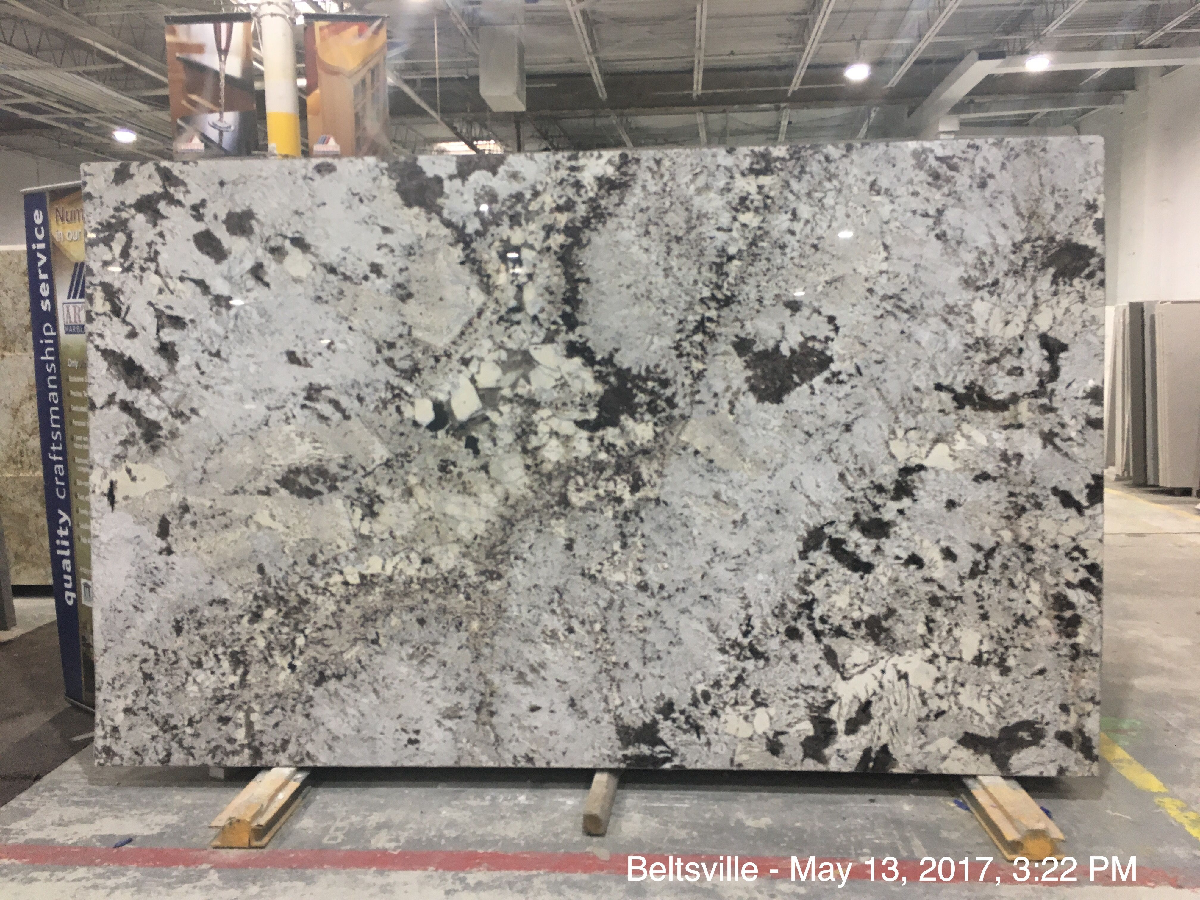 Delicatus White Granite It Is With