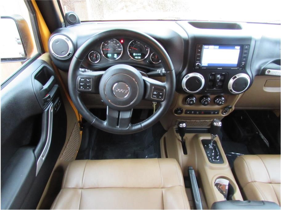 Sold 2012 Jeep Wrangler Unlimited Sahara Sport Utility 4d