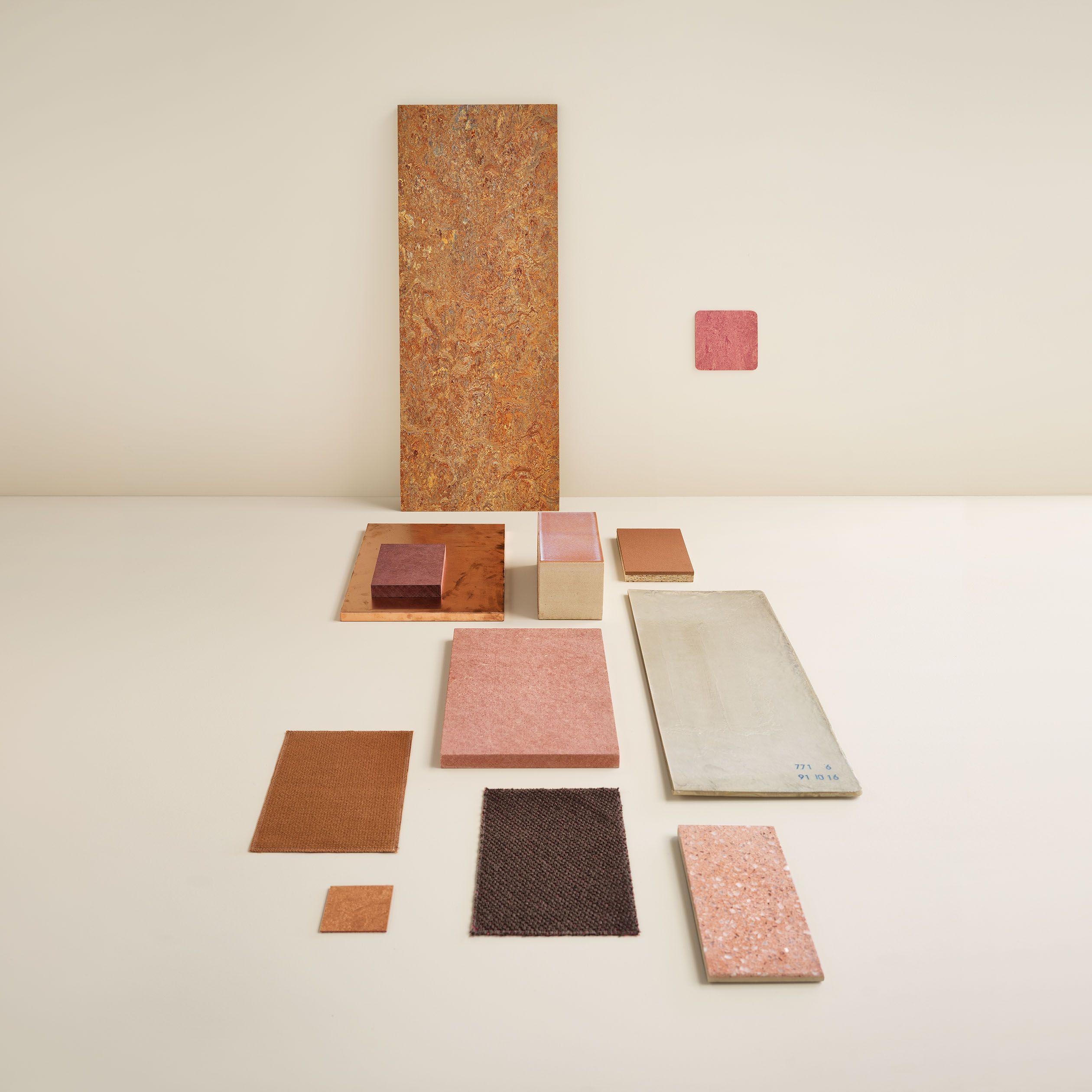 Marmoleum linoleum flooring by Forbo Natural surfaces