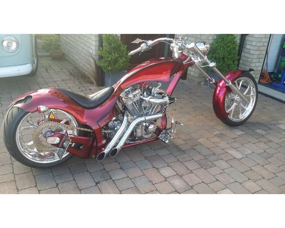 Custom Chopper War Eagle Frame 113ci S S Motor Cool Bikes Custom