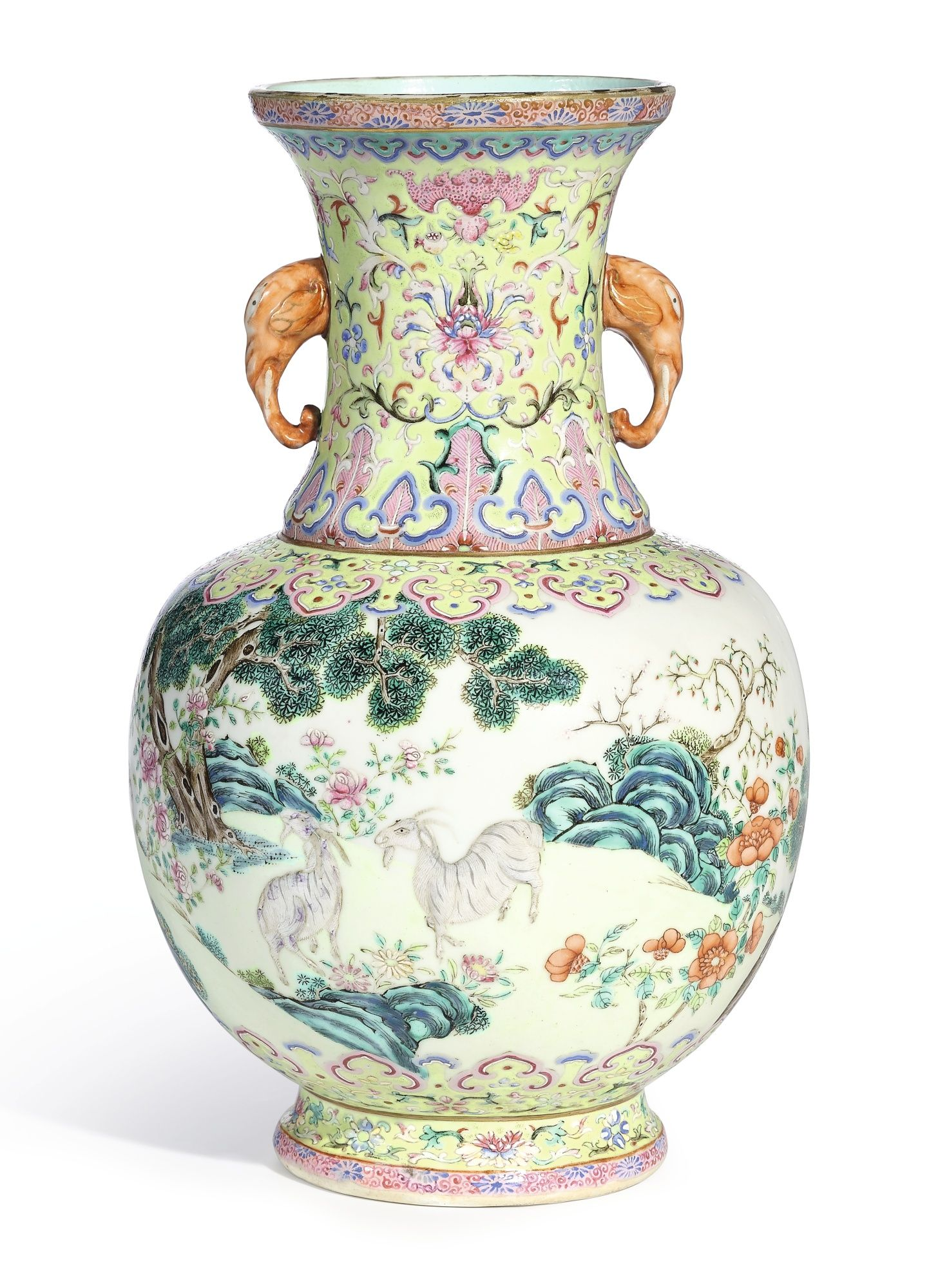 A famille rose three goats vase seal mark and period of a famille rose three goats vase seal mark and period of daoguang reviewsmspy