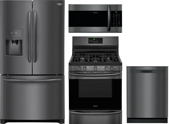 Frigidaire Gallery 4 Piece Kitchen Appliances Package with ...
