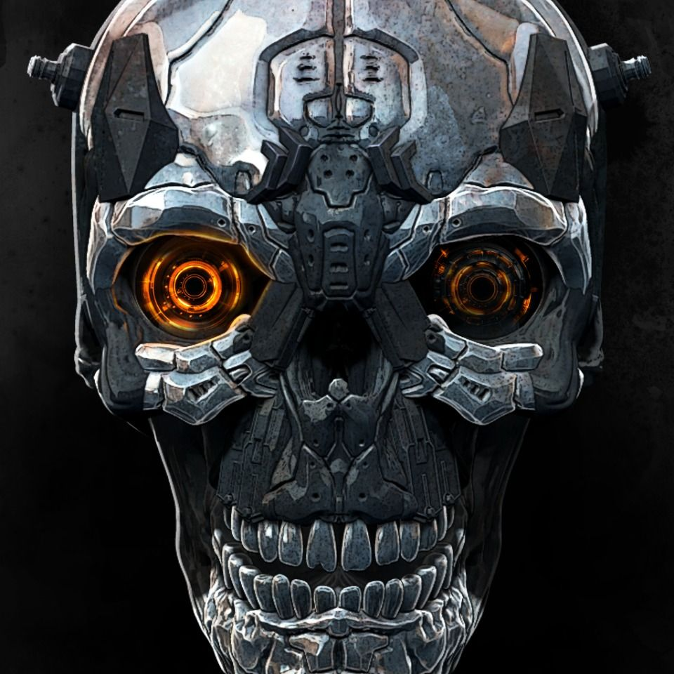 X Morph Closeup Skull Avatar Avatar Profile Avatar Skull