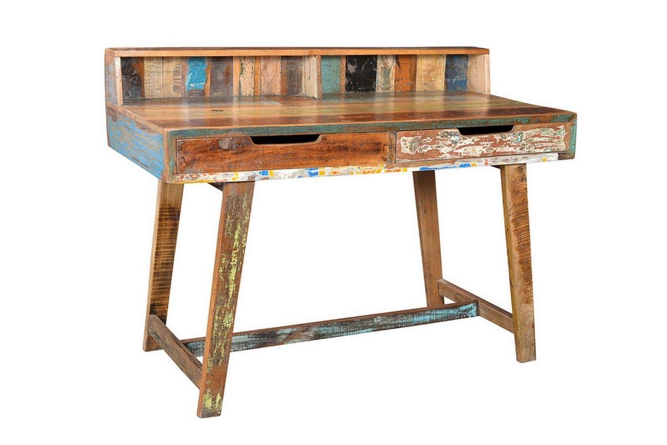 Schreibtisch vintage  Schreibtisch vintage bunt - Kleinmöbel & Beisteller - Vintage ...